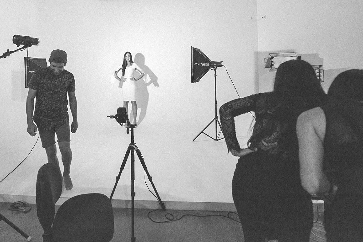 gold coast studio yessayan fashion shoot